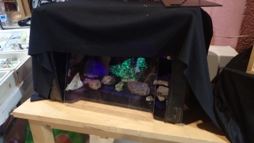 Minerals sota llum ultraviolada